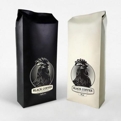mẫu túi giấy đựng cà phê