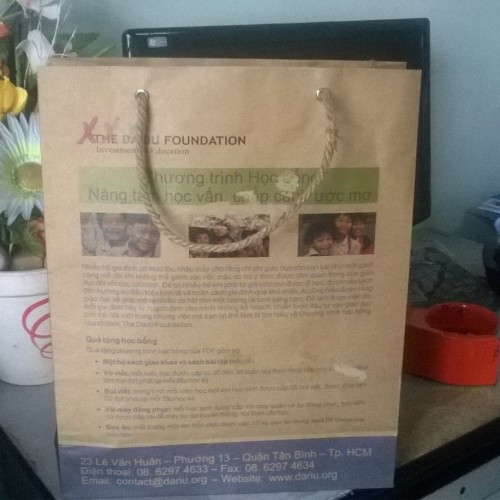 túi giấy kraft bảo vệ môi trường