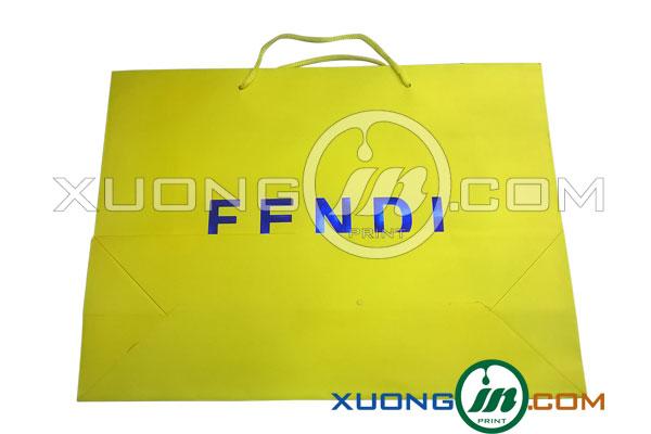 Bộ hình túi giấy cao cấp hàng hiệu