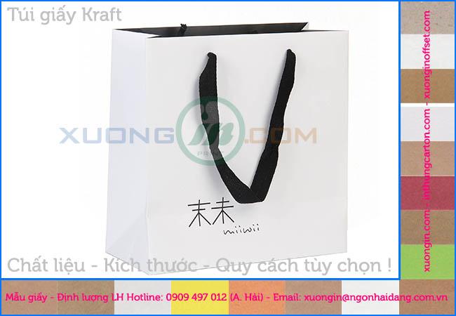 thiết kế túi giấy miễn phí tại hcm