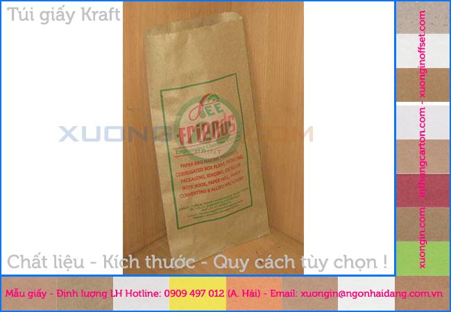 Túi giấy krarf đựng bánh mỳ