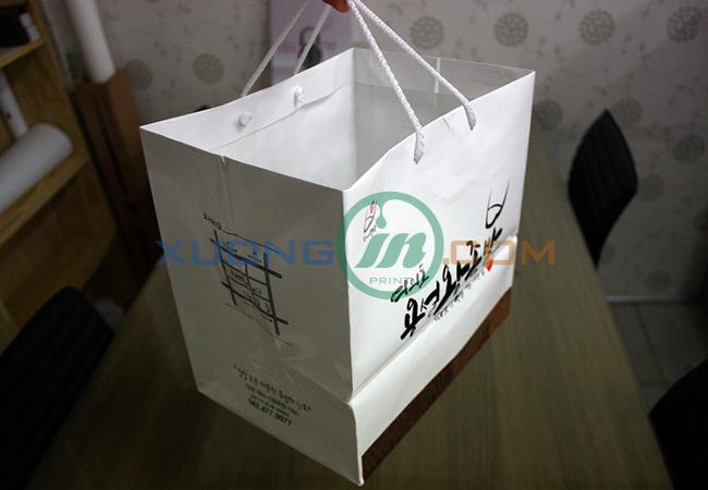 Túi giấy thiết kế theo mẫu